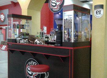 Знаменитая кофейня в крупном ТРК