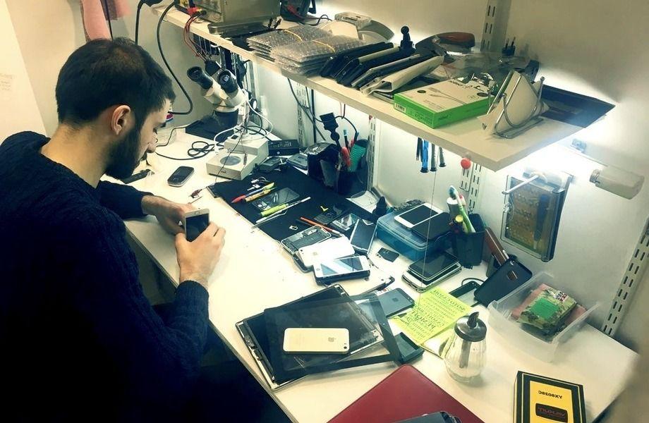 Мастерская по ремонту сотовых телефонов, планшетов