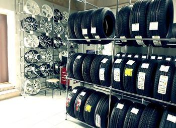 Магазин-склад автомобильных шин и дисков с интернет-магазином