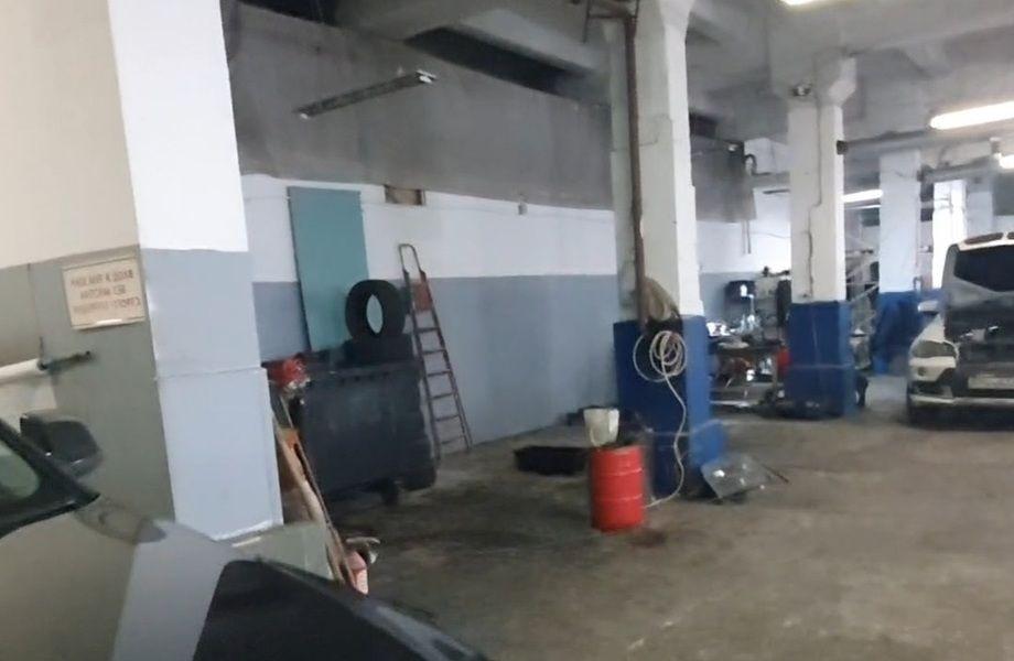 Большой автосервис с мойкой и шиномонтажом на ВО