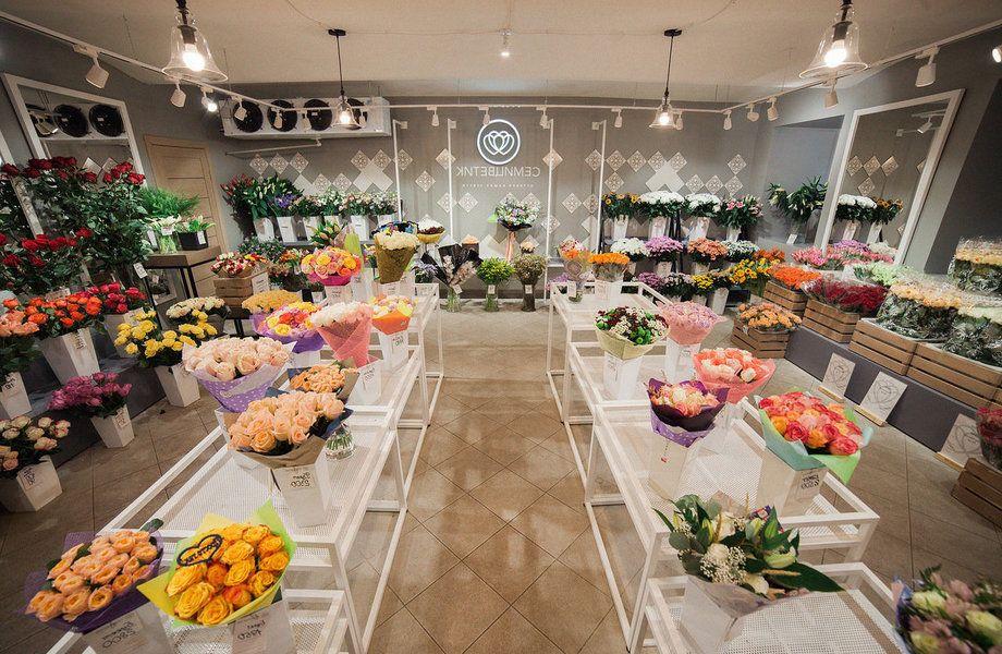 Цветочный магазин в элитном доме с клиентской базой