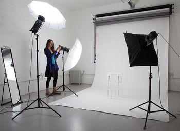 Раскрученная фотостудия с обрудованием
