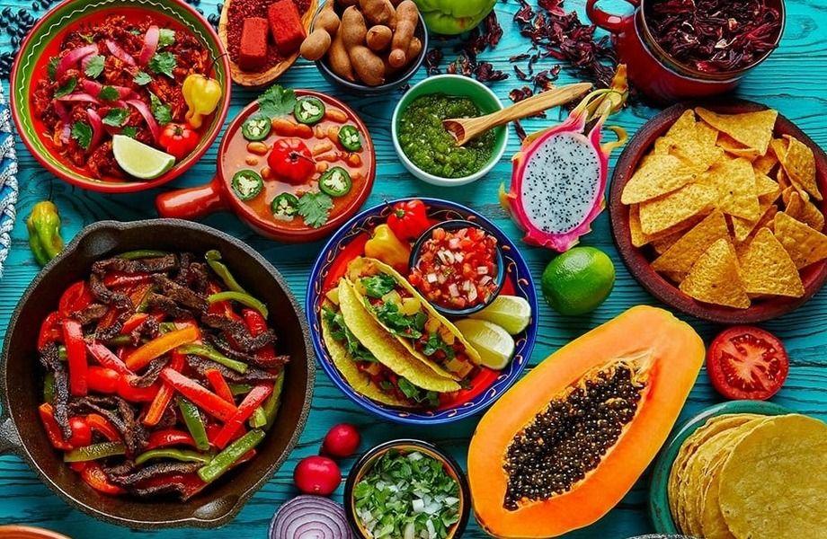 Кафе мексиканской кухни.