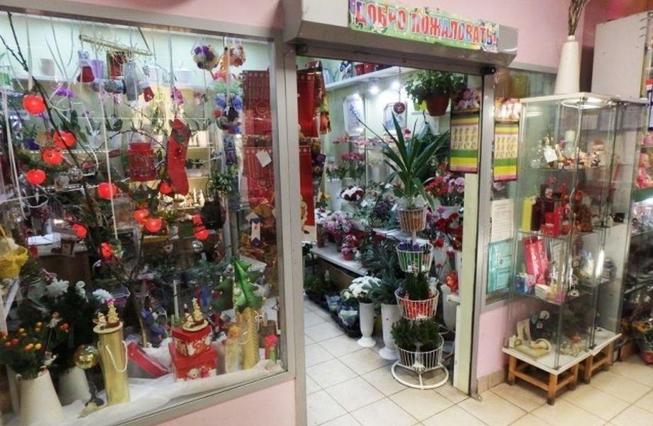 Цветочный магазин в ТЦ (15 лет работы)