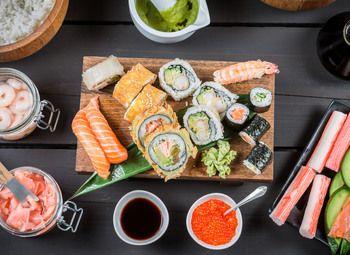 Доставка суши в пригороде СПБ