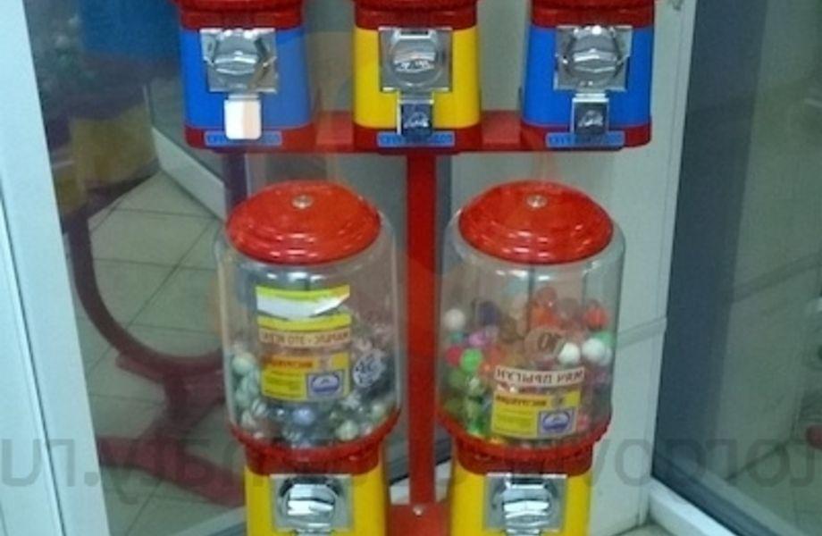 Сеть вендинговых аппаратов в магазинах пятерочка