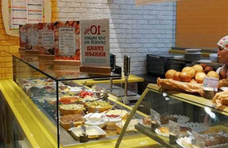 Ресторан быстрого питания на фуд корте с подтвержденной прибылью