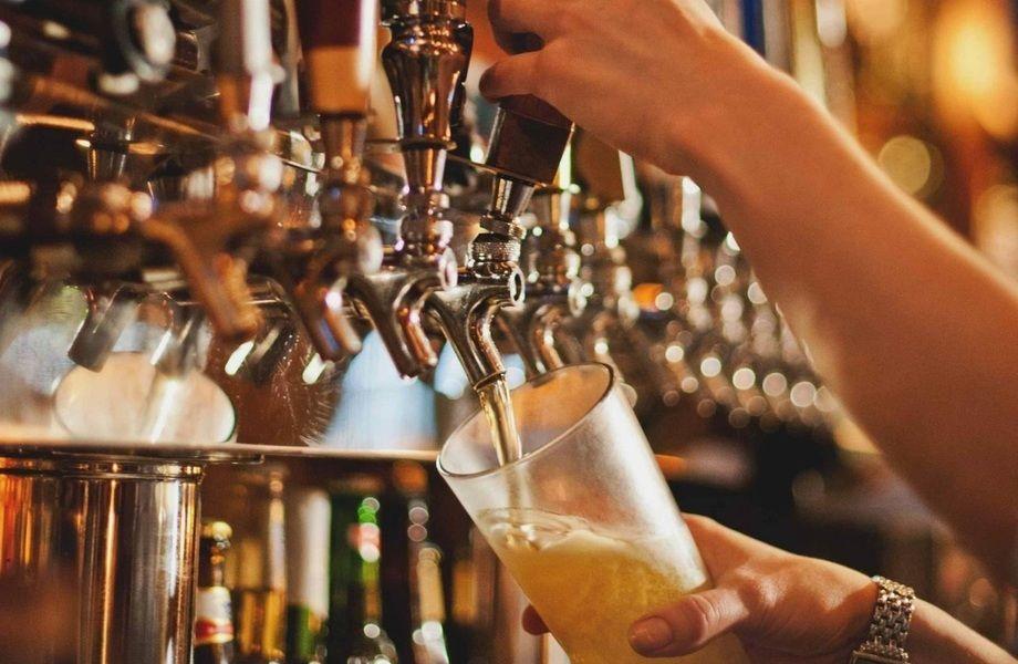 Магазин-бар разливного пива в Приморском районе около метро Беговая