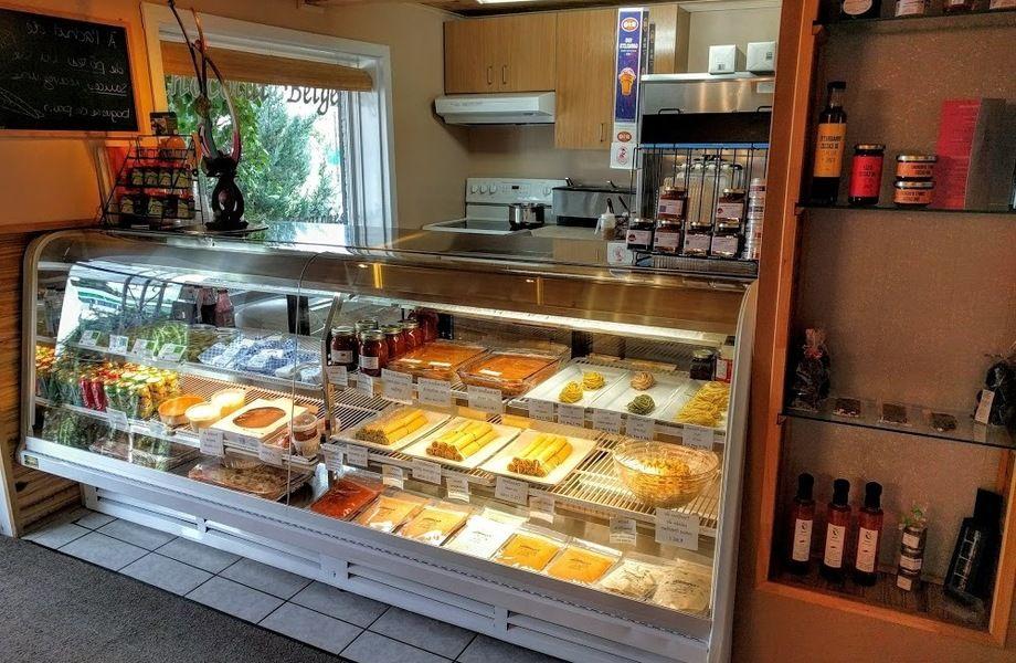 Магазин - пекарня в Выборгском районе