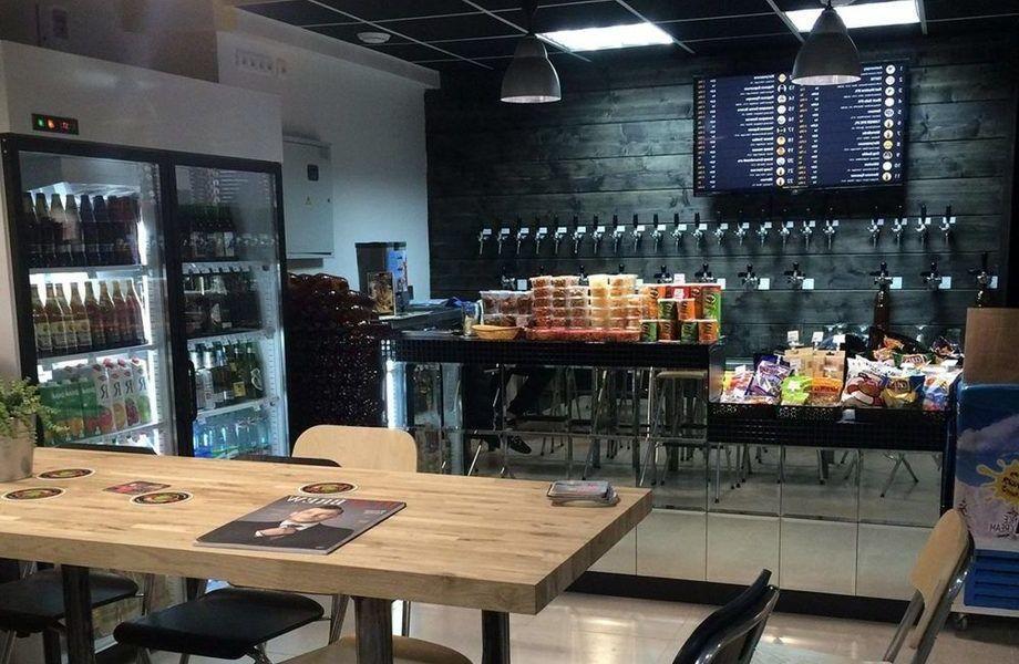 Магазин - бар разливного пива с высоким доходом