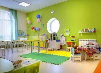 Детский сад с сформированными группами
