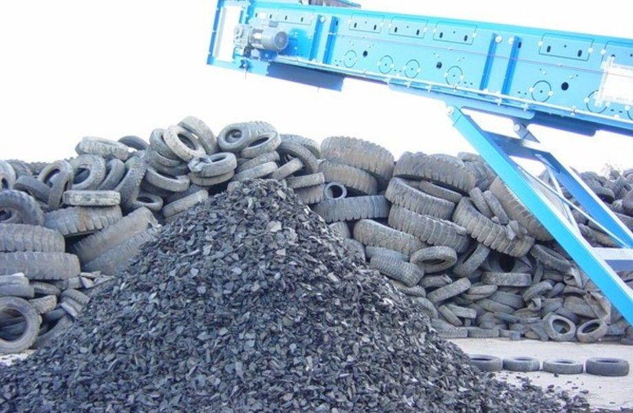 Завод по утилизации автопокрышек и  производству резиновой крошки