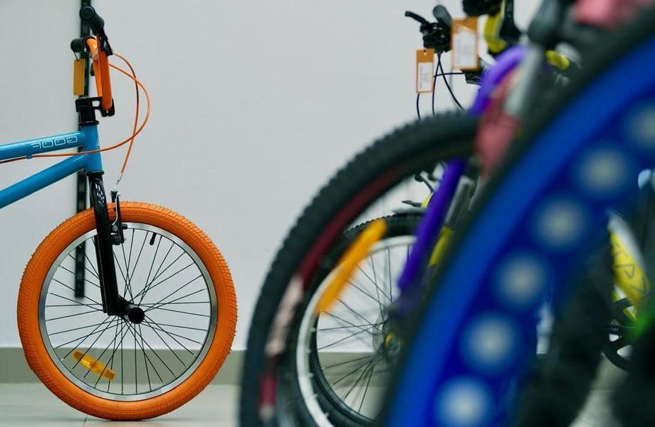 Магазин велосипедов с раскрученным инстаграм