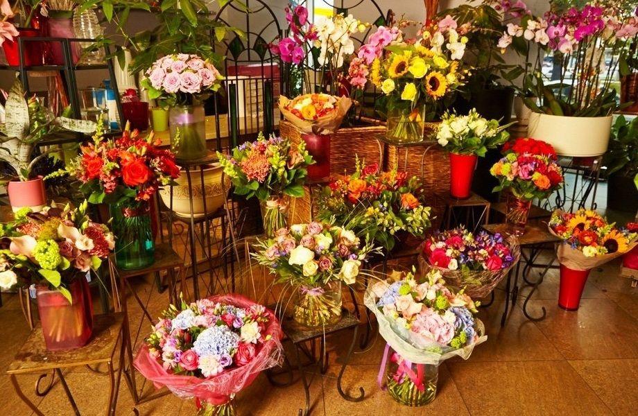 Цветочный магазин  с высокой прибылью (8 лет)