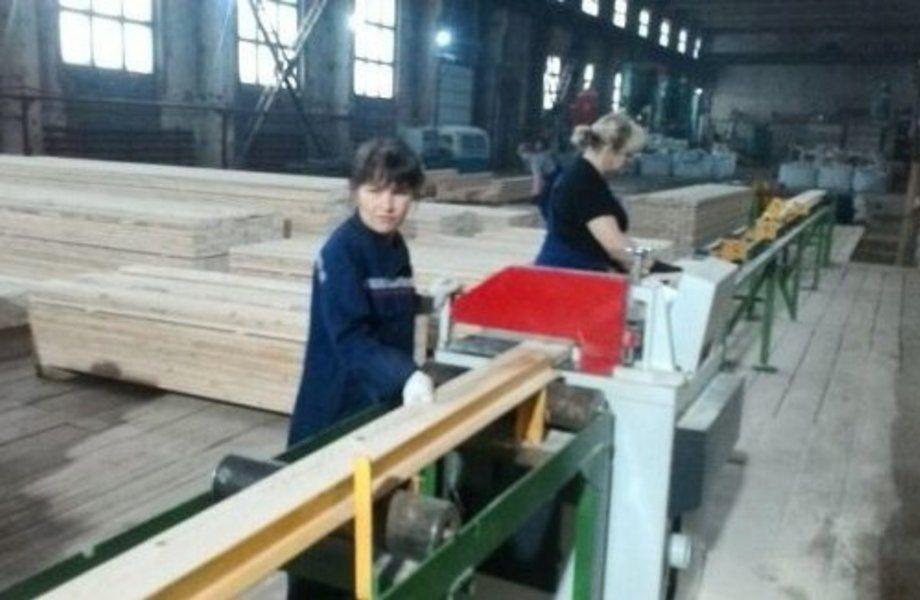Деревообрабатывающее производство с полным циклом производства