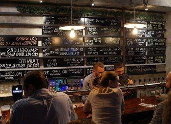 Магазин-бар разливного пива с большой площадью