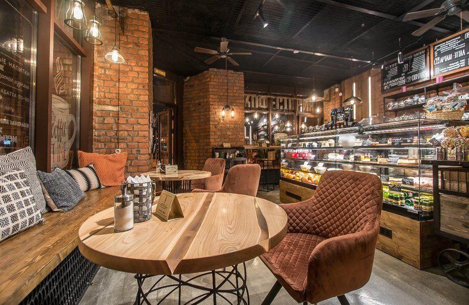 Дизайнерская кофейня в центре города