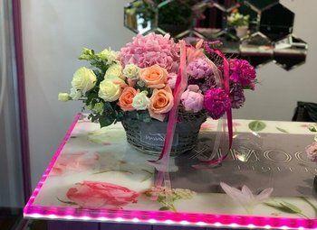 Цветочный магазин на Кожуховской