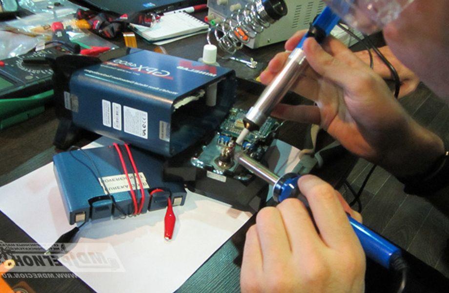 Мастерская по ремонту электроники