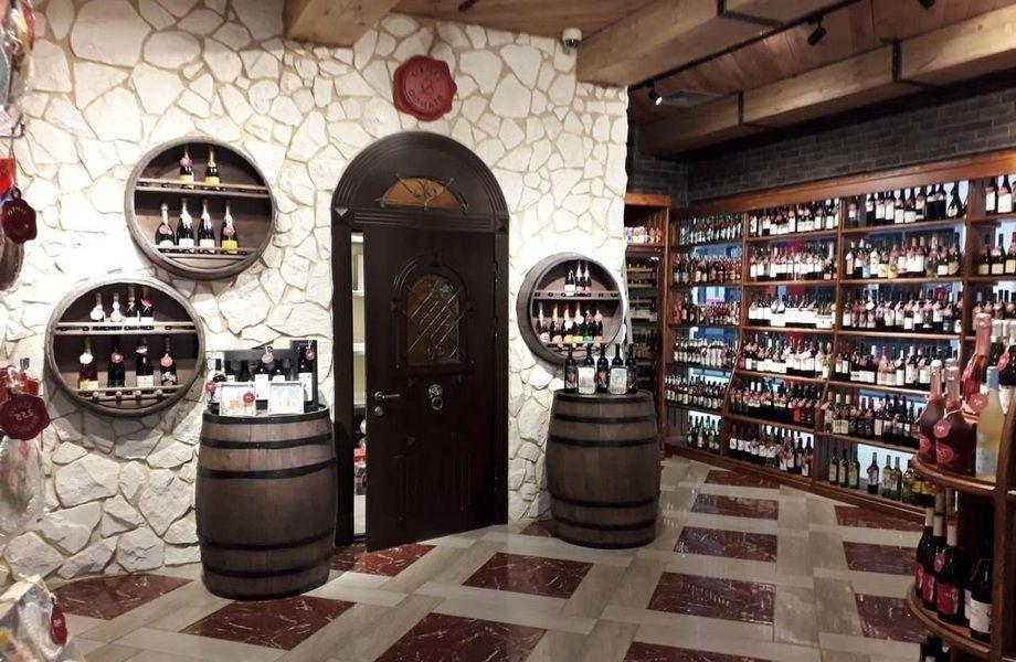 Винотека в элитном БЦ