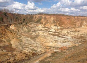 Карьер по добыче песка