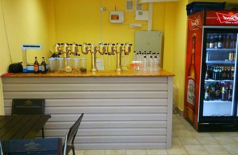 Магазин разливного пива с удачной локацией на юге города