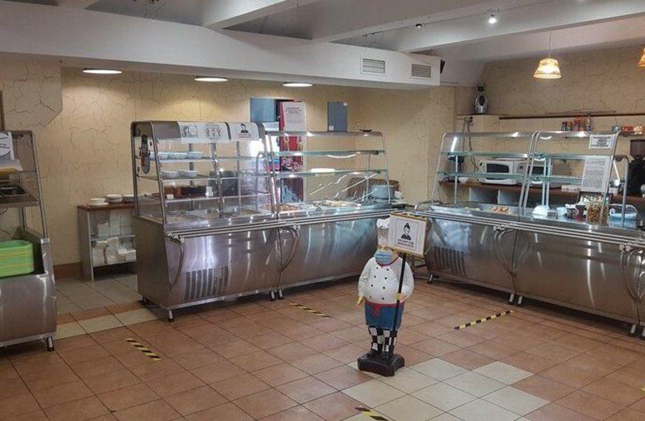 Столовая в бизнес центре на Дубровке