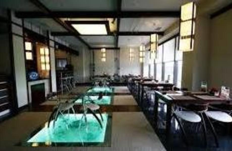 Ресторан японской кухни в ТРК