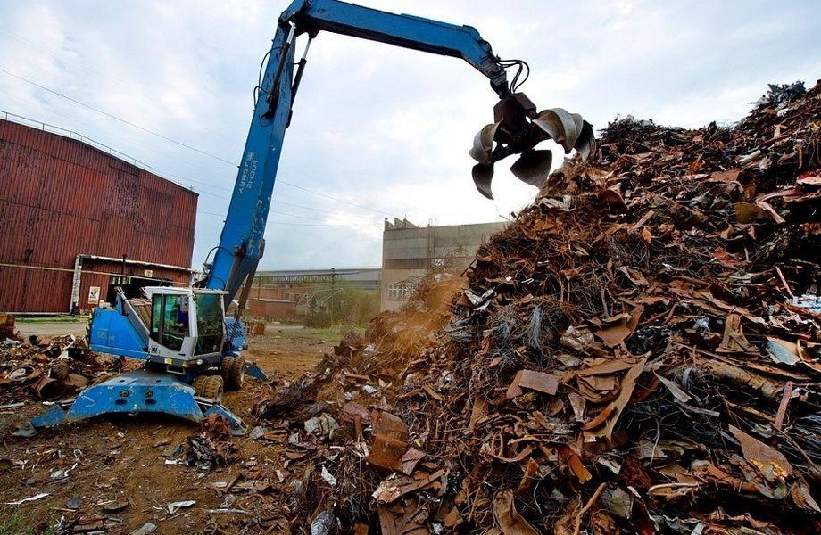 Площадка по заготовке и переработке лома чёрных и цветных металлов