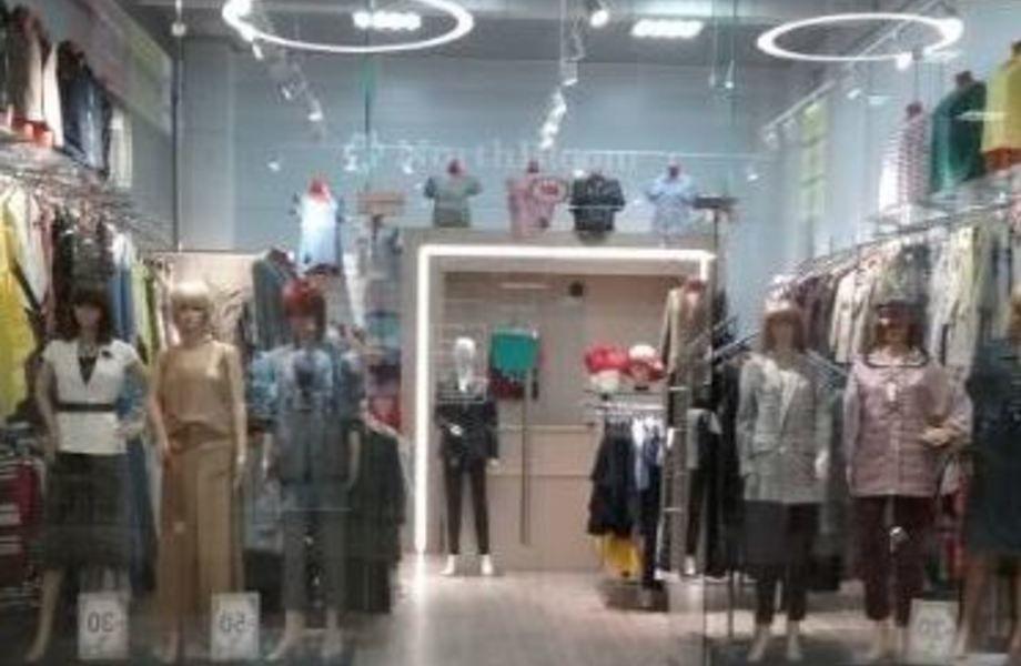 Салон женской одежды в шаговой доступности от метро и крупного ЖК