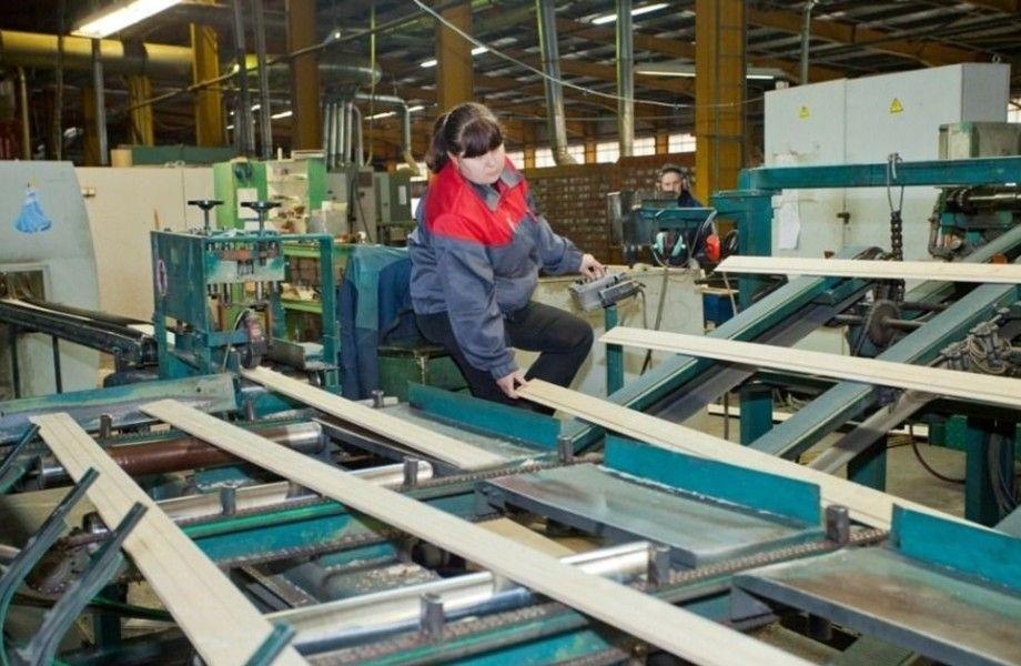 Деревообрабатывающий завод (15 лет работы)