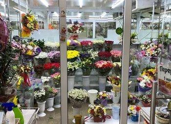 Круглосуточный цветочный магазин в ТЦ возле метро
