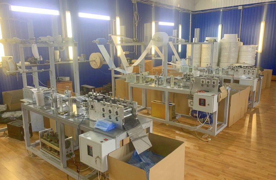 Действующее производство медицинских масок в Москве