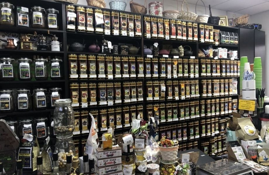 Магазин сортового чая и кофе