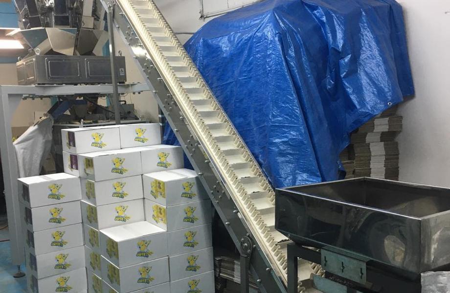 Снековое производство под собственной торговой маркой(прибыль 450 т.р)