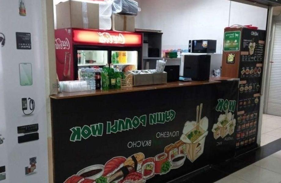 Ресторан суши-Wok в ТЦ Дубровка