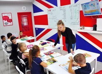 Прибыльный учебный центр стилизованный под лондонское метро