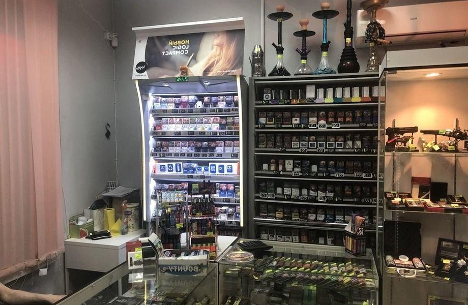 Табачный магазин с отличной репутацией