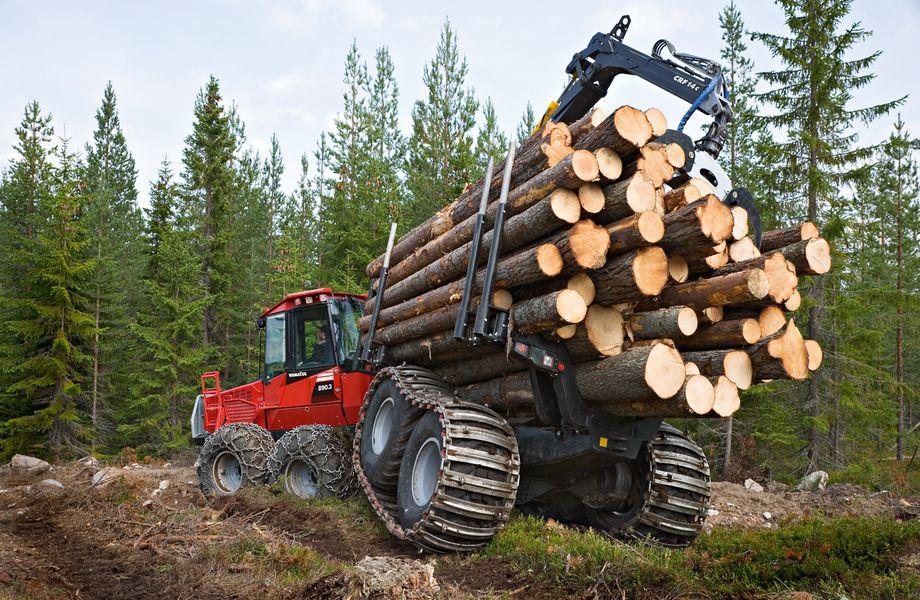 Лесозаготовительная компания с Финским контрактом на сбыт