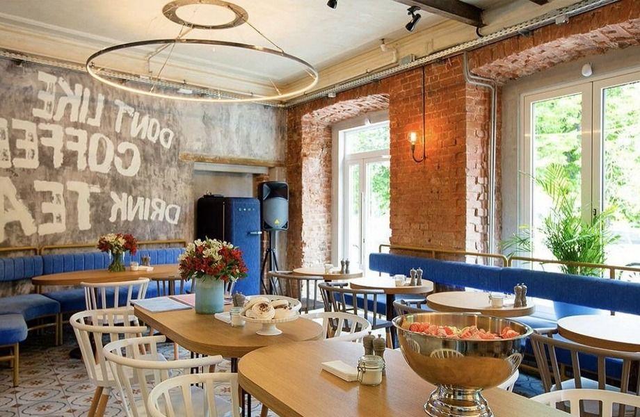 Популярное кафе / кондитерская в центре Москвы