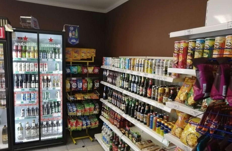 Магазин продукты, разливное пиво, табак с 8-ми летней историей