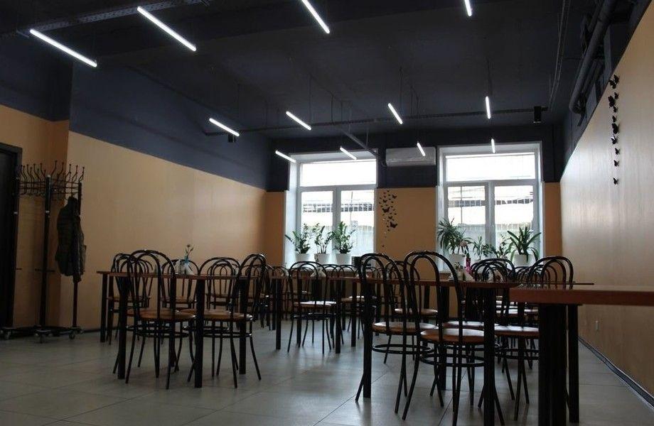 Кафе столовая на территории офисного комплекса с хорошей прибылью