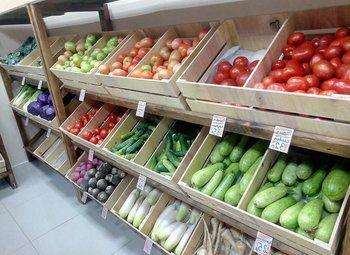 Магазин фермерских продуктов в удачной локации