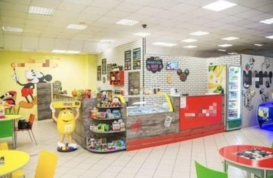 Детский игровой центр с кафе в ТЦ
