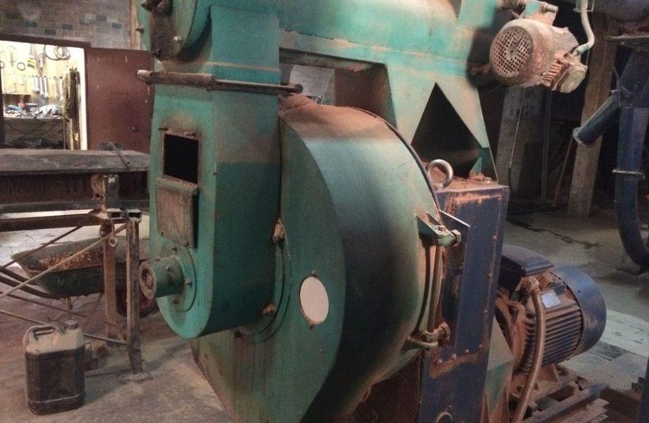 Крупное производство топливных гранул