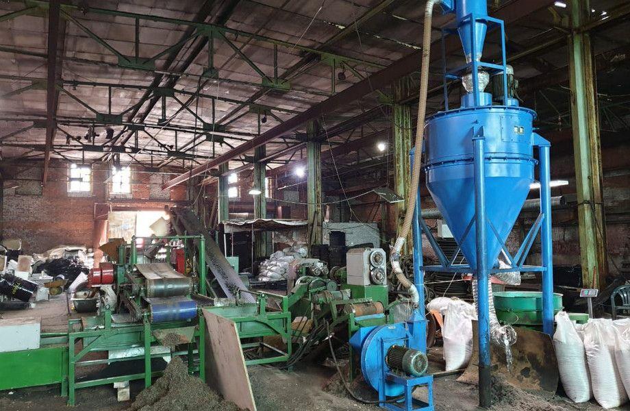Экобизнес по переработке шин в резиновую плитку (работает 6 лет)