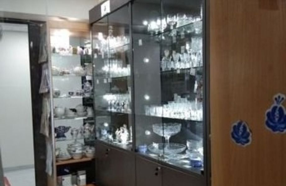 Магазин хрусталя и посуды