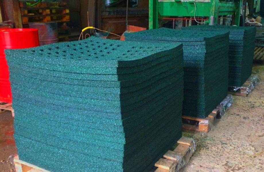 Изготовление покрытий из переработанных шин (партнерство)