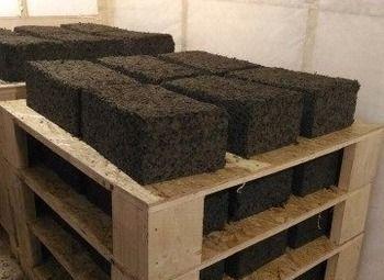 Мини-завод по производству арболитовых блоков