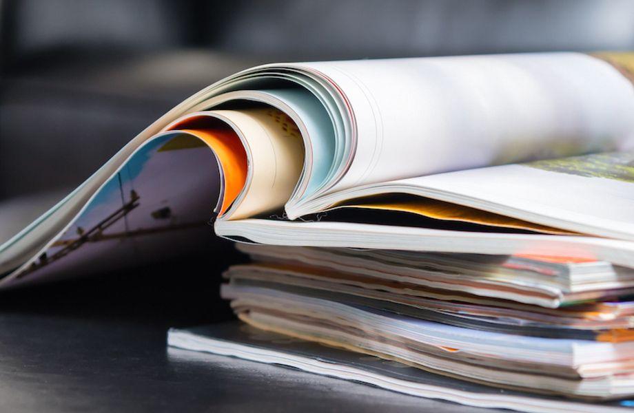 Глянцевый журнал с историей в 10 лет